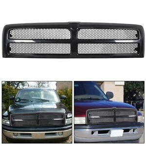 New Front Bumper Hood Grille For 1994 2002 Dodge Ram 1500 2500 3500 Ch1200188