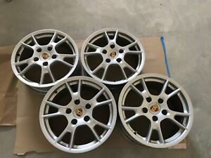 Oem Porsche Boxster cayman 17 Wheel Set
