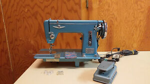 Ward s Straight Stitch Sewing Machine Heavy Duty Leather Upholstery Serviced