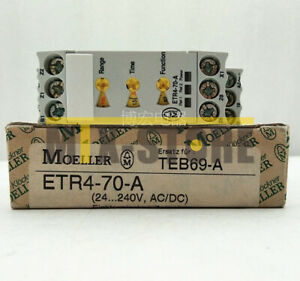 1pcs New Moeller Time Relay Timer Switch Etr4 70 a