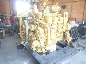 Caterpillar 3508 Dita Turbo Diesel Engine Low Hours 777c Haul Truck Cat 7e9078