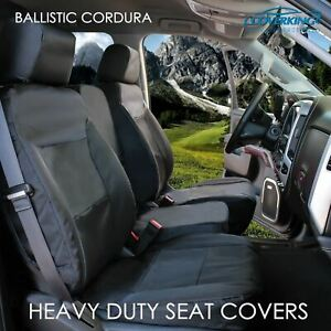 Coverking Cordura Ballistic Custom Tailored Front Seat Covers For Honda Element