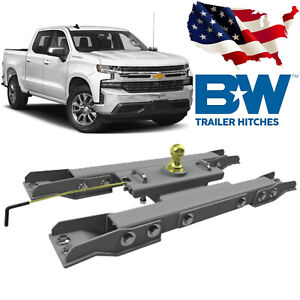 B w Hitches Turnoverball Gooseneck Hitch Kit Gnrk1020 Fits 2020 Chevy Gmc 2500
