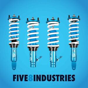 Five8 Industries For 96 00 Honda Civic Ek Height Adjustable Coilovers Kits