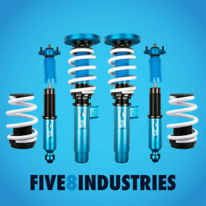 Five8 Industries For 99 05 Bmw 3 Series E46 Coilovers Height Adjustable Kits