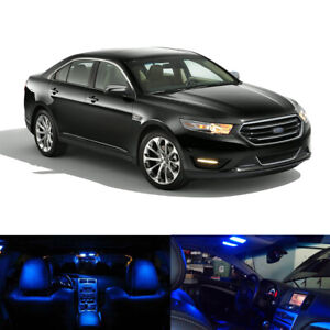 10 X Blue Led Interior Package Light Bulbs For 2010 2014 2015 2016 Ford Taurus