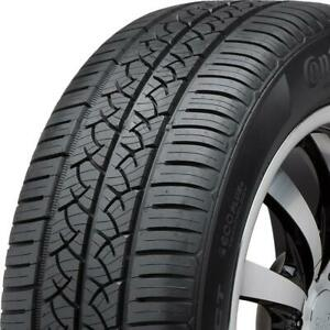 2 New 205 60r16 92t Continental Truecontact 205 60 16 Tires