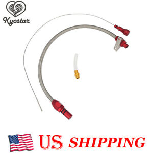 Th400 Flexible Stainless Transmission Dipstick Fits Gm Chevy Th 400 Turbo Sbcbbc