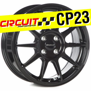 Circuit Performance Cp23 16x7 4 100 35 Gloss Black Wheels Rims Type R Style
