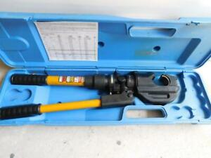 Huskie Ep 430 12 Ton Hydraulic Crimper Crimping Tool Thomas Betts Reliable
