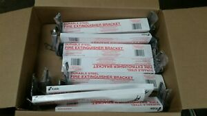 Lot Of 9 Kidde 420118 Fire Extinguisher Bracket With Strap