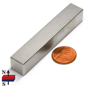 Multi Piece Super Strong N52 Neodymium Rare Earth Block Magnets 3 x1 2 x1 2