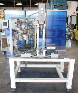 10 Ton Btm P 10 hx3 38 Pneumatic Air Toggle Punch Press Insertion Assembly