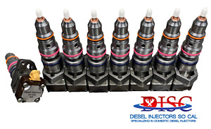 1997 1999 Ford Powerstroke 7 3l Fuel Injectors Ab Code Set Of 8