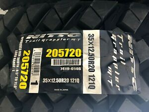 Nitto Trail Grappler M T 35x12 50r20 Wholesale Pricing Set Of 4 Tires