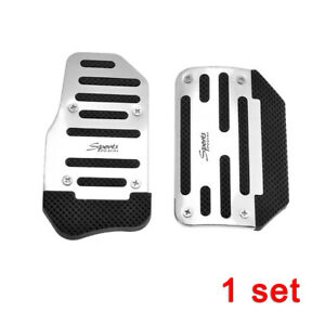 2pcs Universal Racing Sports Non Slip Automatic Car Gas Brake Pedals Pad Cover
