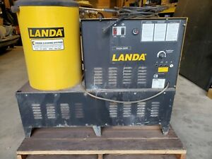 Landa Steam Pressure Washer 3000 Psi Vhg4 3000 Natural Gas