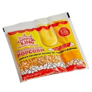 Carnival King All In One Popcorn Kit 6 Oz Popper 36 case Free Shipping Us 48