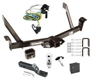 Trailer Tow Hitch For 01 03 Ford Explorer 2 Dr Sport Delux Pkg Wiring Ball Lock