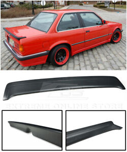 For 85 91 Bmw E30 3 series Mtech 1 Style Rear Trunk Lid Wing Heck Spoiler