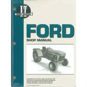I t Shop Manual Fits Ford Tractor 3230 3930 4630 4830