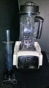 Vitamix Touch Go Commercial On counter Bar Blender 3 2 H p Heavy Duty