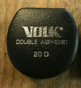 Volk 20d Double Aspheric Indirect Ophthalmoscopy Lens Fundus