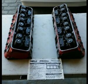 World Sportsman Ii Small Block Chevy Heads