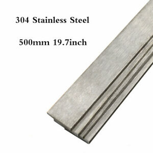 500mm 304 Stainless Steel Rod Square Bar Strip 3 10mm For Knife Making Us Stock