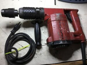 Hilti Te 22 Rotary Hammer Drill 115v Great Pre owned Condition Free Shipping
