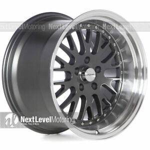 Circuit Cp21 18x9 5 18x11 5 114 3 20 Gun Metal Wheel Fit 94 04 Mustang Gt Cobra
