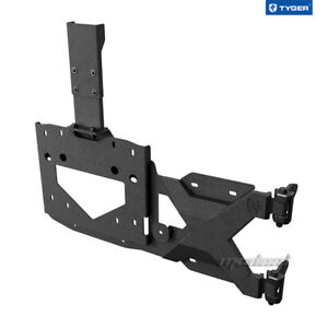 Tyger Tire Carrier Fit 2018 2021 Jeep Wrangler Jl For Up To 37inch Spare Tire