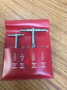 Starrett Telescoping Gages With Case Free Shipping