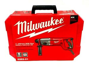Milwaukee 5262 21 1 25mm Sds Plus Rotary Corded Hammer Kit