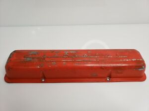 Vintage 1960 S Chevrolet Small Block Cover Lh Script Valve Cover Wiring Tabs