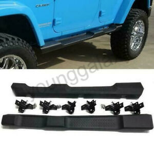 07 17 Jeep Wrangler Jk Unlimited 4dr Oe Style Running Board Side Step Nerf Bars