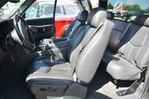 2003 2007 Silverado Sierra Oem Gray Leather Seats Front Rear Extended Cab Heated
