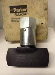 Parker Fluid Power Needle Valve N1600s