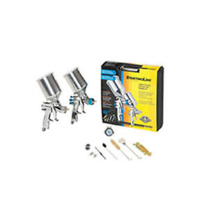 Startingline Hvlp Complete Auto Painting And Priming Gun Kit