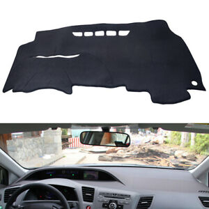 Anti sun Dash Cover Dashboard Mat Carpet Fit For 2006 11 8th Gen Honda Civic