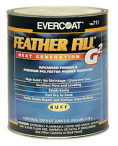 Evercoat 715 Feather Fill G2 Black Polyester Primer Surfacer 1 Gallon