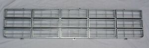 1977 78 79 Chevy Truck Pickup Argent Silver Gray Grille Insert Blazer Suburban