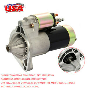 17749 Starter For Jeep Grand Cherokee Tj Wrangler 4 0l V6 17689 1999 2002 2001