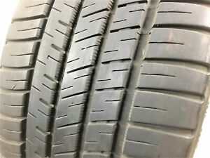 Two Michelin Pilot Sport A s 3 225 40zr18 92y Used Tires 8 32 Tread Left