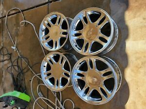 2002 Ford Mustang 17 Factory Rims Very Fair Condition 4 Rims 4caps