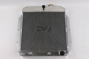 3 Rows Aluminum Radiator Fit 1955 56 57 58 1959 Truck Chevy Chevrolet Gmc Pickup
