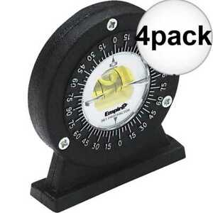 Empire 361 4 Small Angle Magnetic Protractor 4x