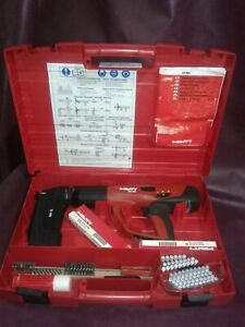 Hilti Dx 460 mx 72 Powder Actuated Med heavy Duty Fastener W case