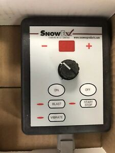 Genuine Oem Snowex F50607 Salt Spreader Control Pendant For Sp 575x Sp 1075x