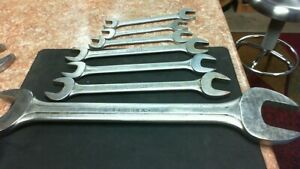 7 Blue Point Supreme Open End Wrench Set